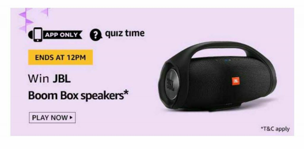"Amazon Quiz Daily Answers 17th December 2020 Win Sony Multimedia Speakers Н""𝐫𝐢𝐜𝐤𝐳𝐨𝐧"