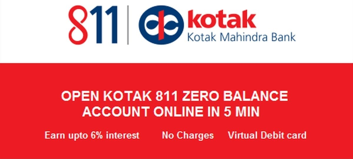 open kotak 811 account